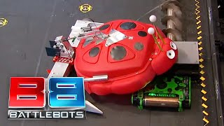 Mega Tento vs Poison Arrow: BattleBots Season 2 Qualifying Round