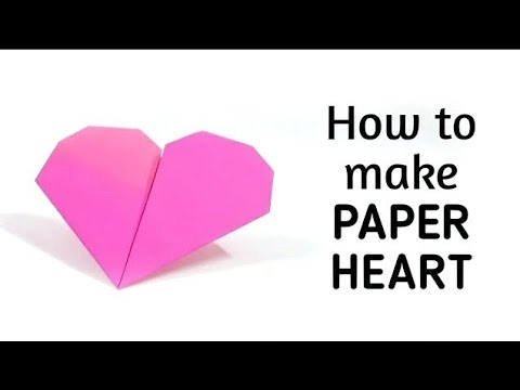 How To Make An Origami Paper Heart 1 Origami Paper Folding