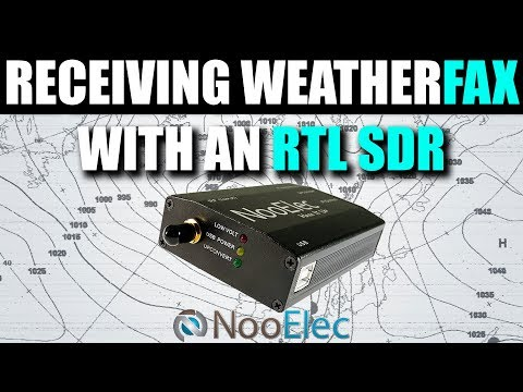 Receiving HF Weather FAX Using An RTL SDR Receiver