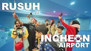 Rusuh di Incheon Airport, Ngomong Bahasa Korea