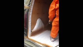 Защитное покрытие кузовов автомобилей(Защита от коррозии, защита от истирания - великолепная защита металла на долгие годы. На данном видеоролике..., 2012-03-11T20:36:02.000Z)
