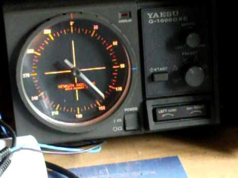 yaesu g1000dxc avec interface de df9gr