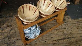 Six Basket Snack Rack Production Process (part 2/2)
