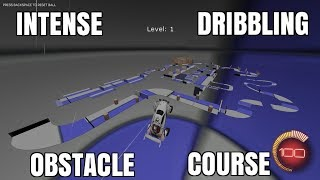 INTENSE DRIBBLING OBSTACLE COURSE