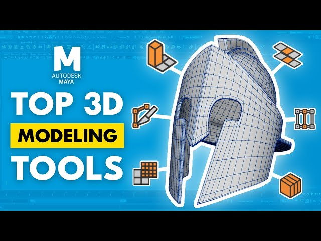 How to Use The Modeling Tools in Maya
