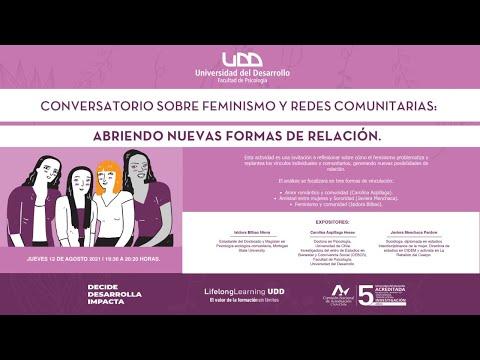 Conversatorio sobre Feminismo y redes comunitarias: abriendo nuevas formas de relación