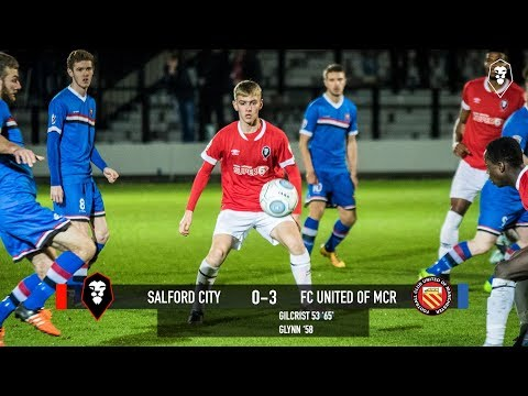 Salford City 0-3 FC United of Manchester - Manchester Premier Cup