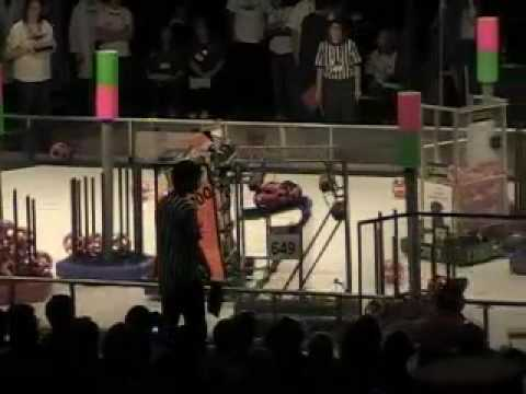 2009 FIRST Robotics Silicon Valley Regional Champs - Team 100 in Qual 1