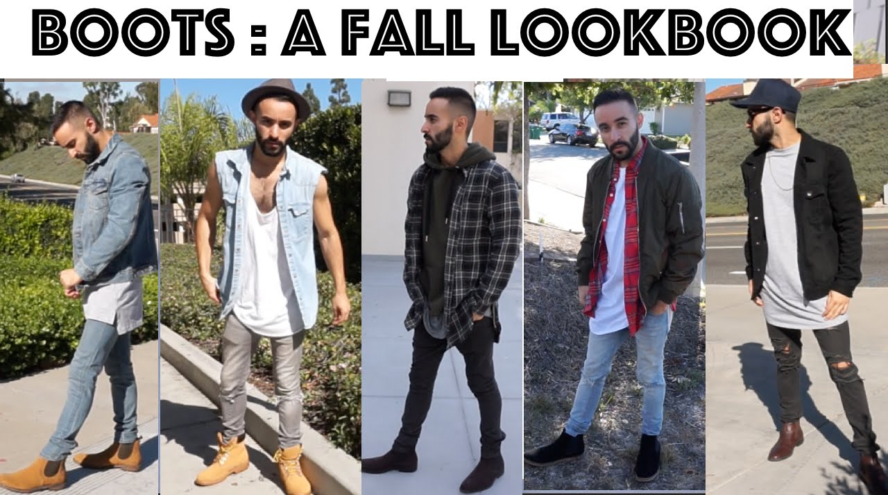 Boots | Men's fall fashion look book | how to style Chelsea boots ...
