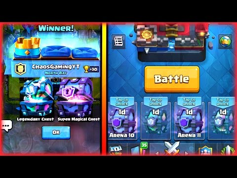 SECRET WAY TO GET SUPER MAGICAL AND LEGENDARY CHEST IN CLASH ROYALE! HOW TO GET LEGENDARIES!!