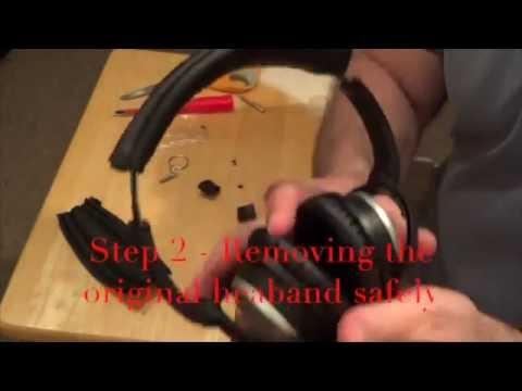 AHG QC2/15 Headband Installation