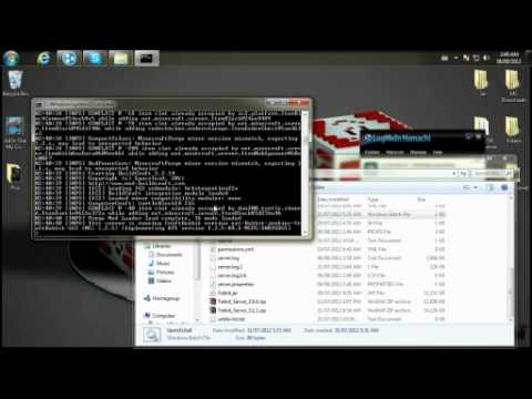 Minecraft server FAILED TO BIND TO PORT / Perhaps Server already on port? (tek-bukkit/hamachi)