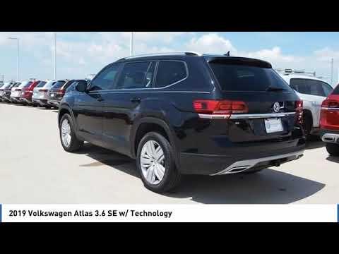 2019 Volkswagen Atlas 3.6 SE w/ Technology [LISTING TYPE] KC537121