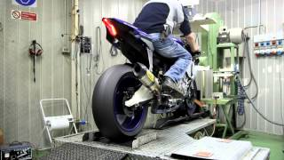 arrow exhaust 2015 yamaha r1 dragon s breath