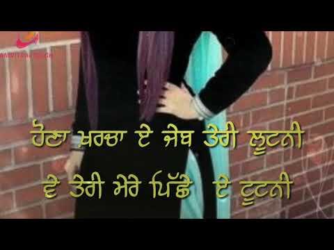 BUDGET  SONG BY KAUR B  WHATSAPP STATUS