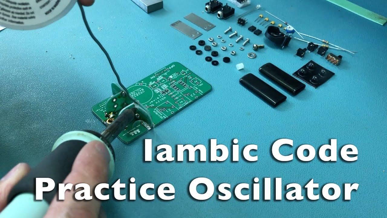 Iambic Paddle Morse Code Practice Oscillator