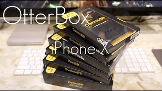 OtterBox iPhone X ENTIRE Case Lineup! - Hands On Preview