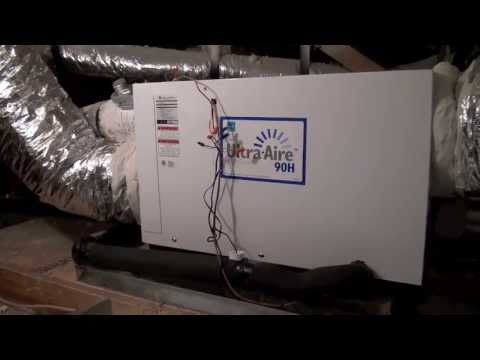 Ultra Aire Whole House Ventilating Dehumidifiers Youtube