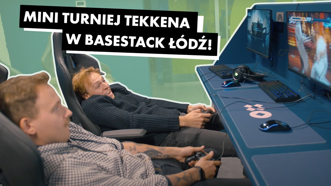 Gramy w gry w Basestack Gaming!