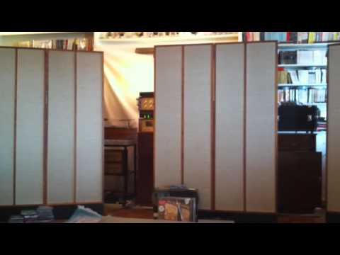 Phillip's System 3 Channel Stacked KLH 9 Marantz 9 Ampex 351