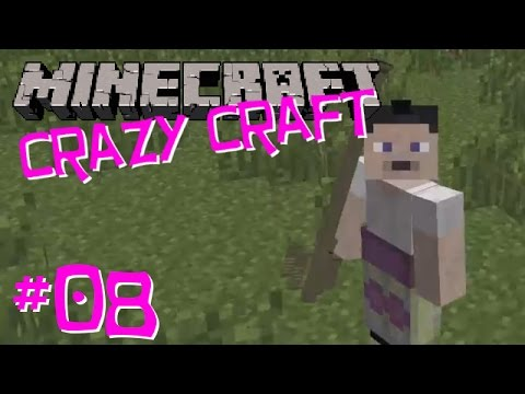 Let's Play Crazy Craft: Ep08 - Stinger Missiles!
