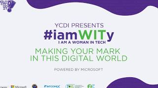 YCDI #iamWITy Conference - Day 1 Morning - Opening Ceremony