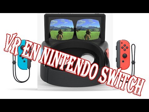 SE REVELA LA REALIDAD VIRTUAL (VR) EN NINTENDO SWITCH