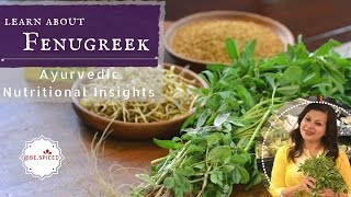 Learn About FENUGREEK | Methi | Ayurvedic Nutritional Insights