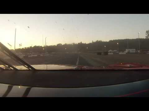 "Evergreen Speedway SLM #68 ""Terrible"" Tim McDougald Front Cam - 06-24-17"