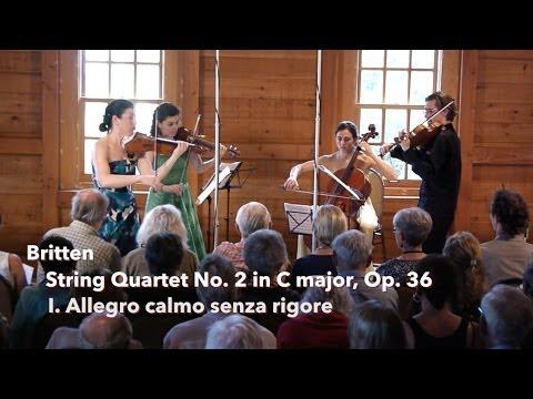 Britten: String Quartet No. 2, I. Allegro calmo senza rigore - ChamberFest Cleveland (2013)
