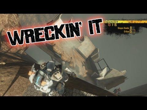 Wreckin' it in Red Faction Guerilla |