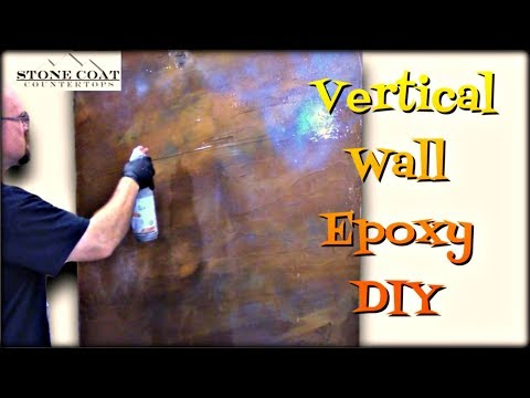 Vertical wall epoxy, DIY