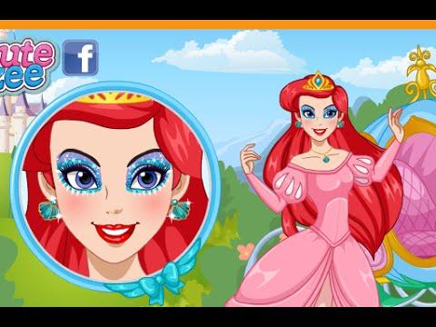 Juegos de maquillaje: Disney Princess maquillaje, juegos de Disney Arile Princess