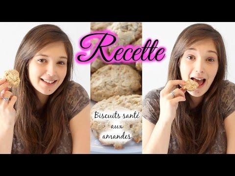 \*-vidÉo-recette-*//-biscuits-santé-aux-amandes