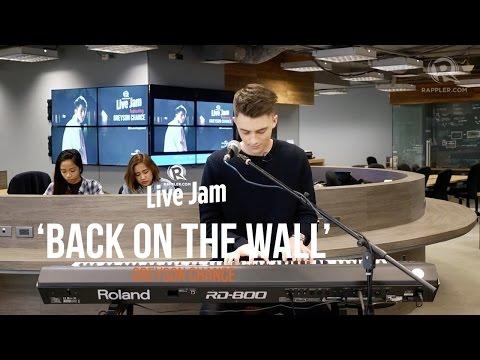 Rappler Live Jam: Greyson Chance – 'Back on the Wall'