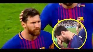 فيديو حصري ميسي يمسح دموعه بعد تتويج الريال بكاس السوبر الإسباني Exclusive Video