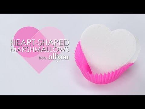 How to Make Heart-Shaped Marshmallows | MyRecipes