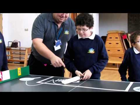Table Cricket with Pencalenick School