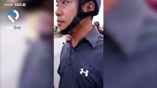 Bến Tre: Cư dân mạng xôn xao trước đoạn clip CSGT rút súng doạ bắn người