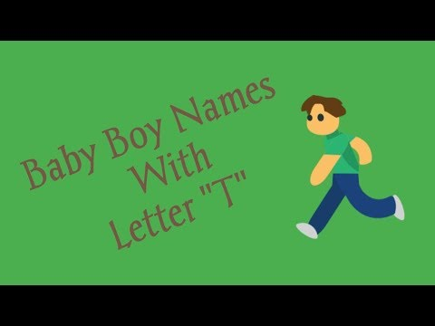 Baby Boy Names Starting With Letter