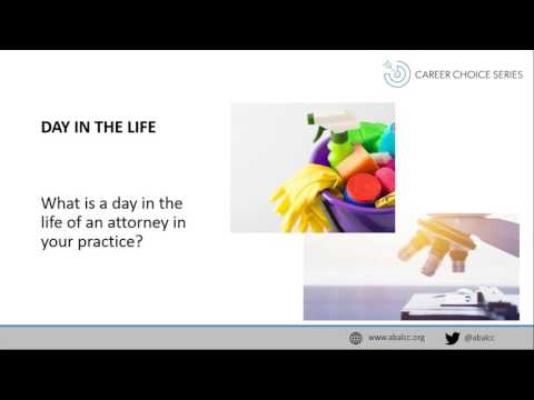 Career Choice Series: Food, Drug, and Biotech Law