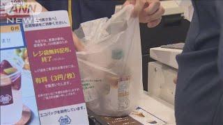 コンビニで初 ミニストップがレジ袋「1枚3円」(19/06/24)