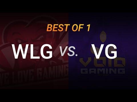 Void vs WLG - 2018 LGC S4 - BO1