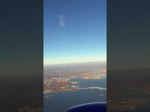 Morning arrival into Baltimore Washington International Thurgood Marshall Airport