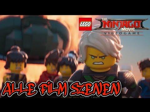 ALLE FILM SZENEN - THE LEGO NINJAGO MOVIE VIDEOGAME ALL CUT SCENE 🐉 Deutsch/German