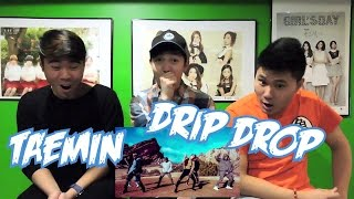 TAEMIN - DRIP DROP PERFORMANCE VIDEO REACTION (FUNNY FANBOYS)