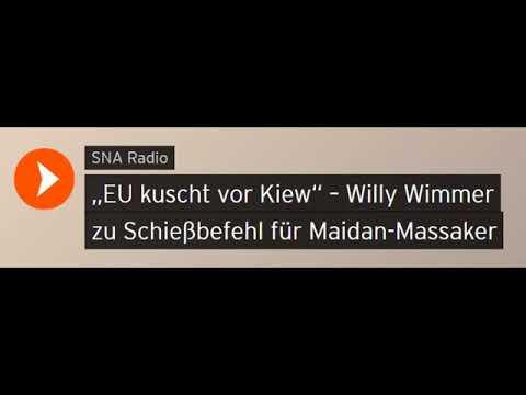 """""""EU kuscht vor Kiew"""" – Willy Wimmer zu Schießbefehl für Maidan-Massaker (Sputniknews)"""