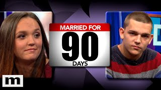 Married 90 Days! Who's The Father? | The Maury Show