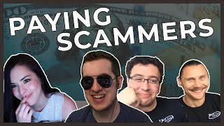 Pretending To Pay Scammers With IRLRosie & Trilogy Media
