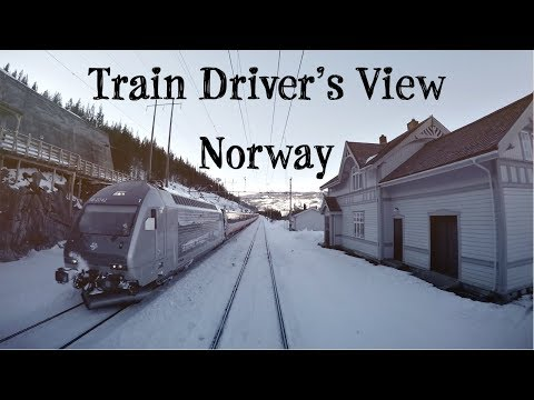 Train Drivers View: Back over the mountain (Ål - Voss)